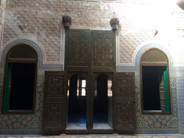 Interior de la kasbah de Telouet