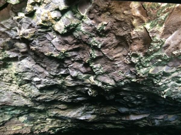 Interior de la Cueva Bonita. La Palma