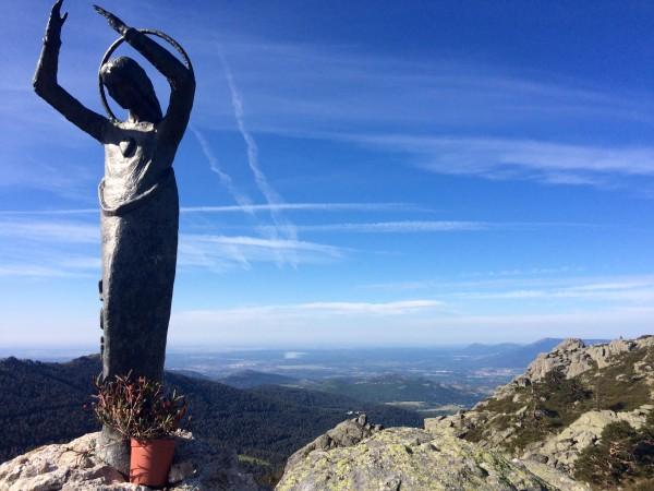 Vistas desde la Virgen de las Nieves. Navacerrada