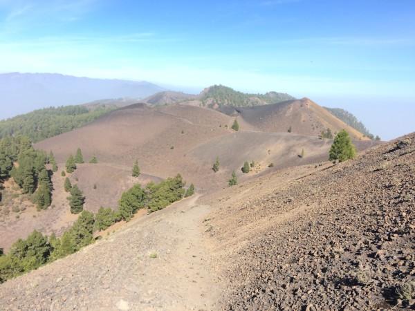 Vistas de la ruta de los volcanes
