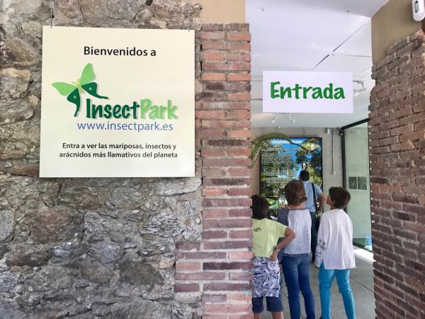 Entrada al Insect Park