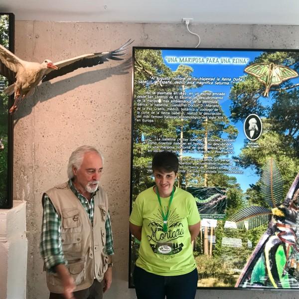 Pedro Velasco, entomólogo creador de Insect Park y Bea, nuestra guía