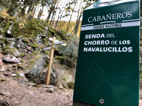 Señalización de la ruta del Chorro (Toledo)